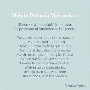Melvin_Texto