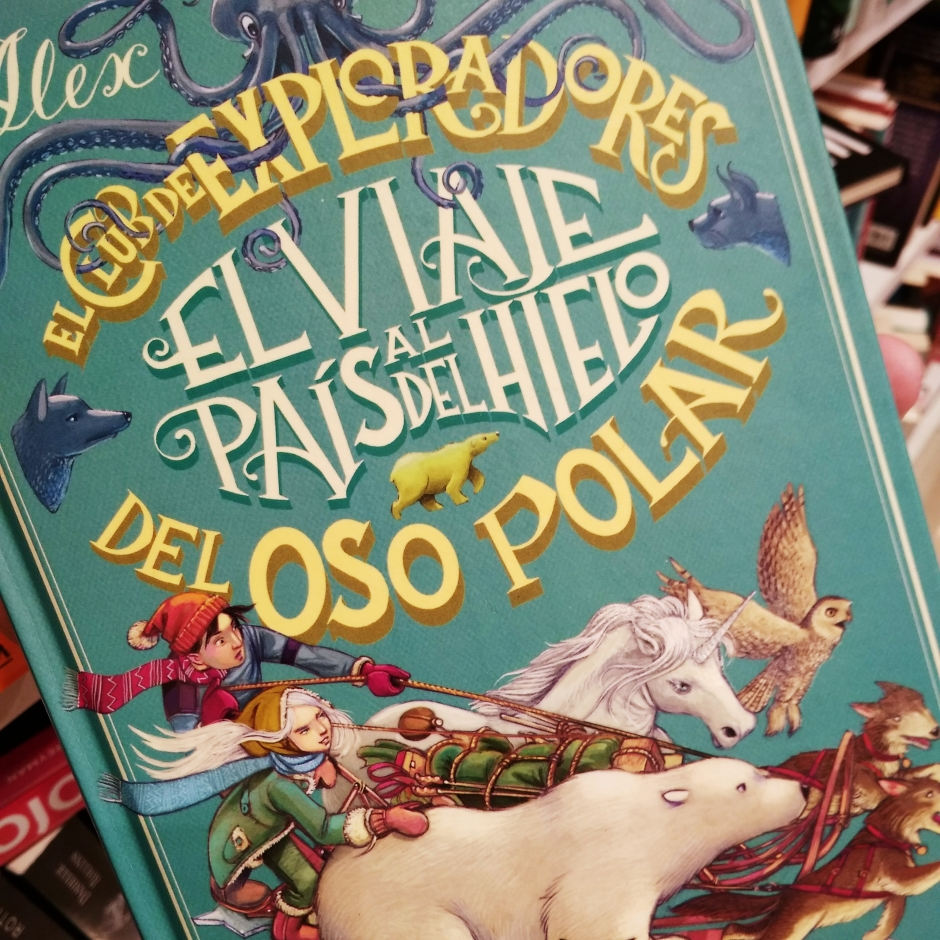 Libro infantil de Fantasía y aventuras